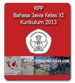 RPP Bahasa Jawa Kelas XI Kurikulum 2013