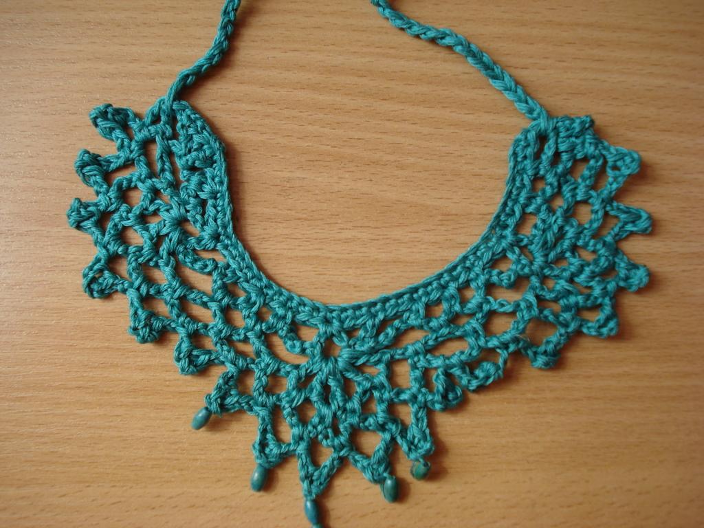 Little Treasures: Crochet anklet