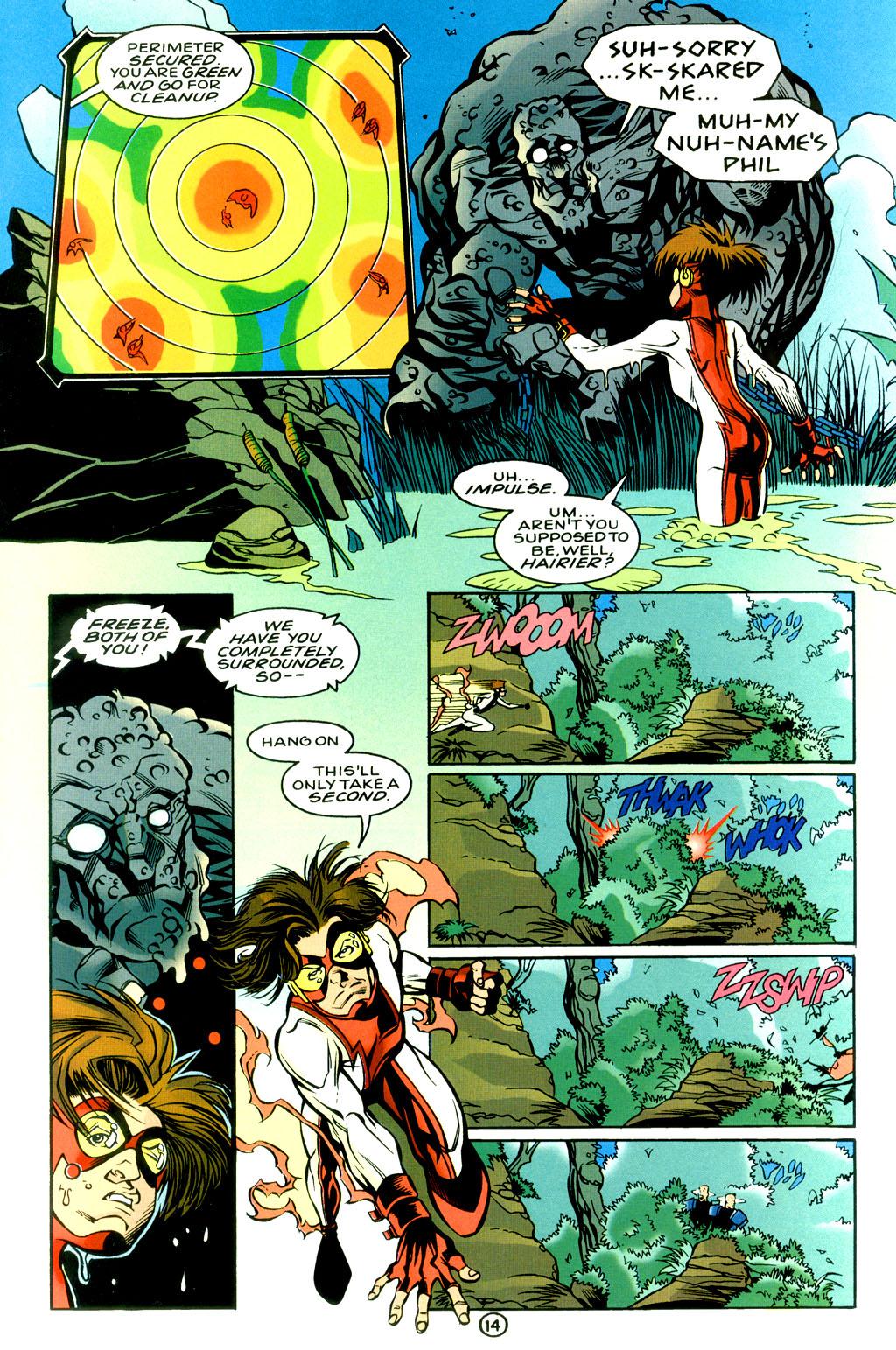 Read online Impulse Plus comic -  Issue # Full - 14