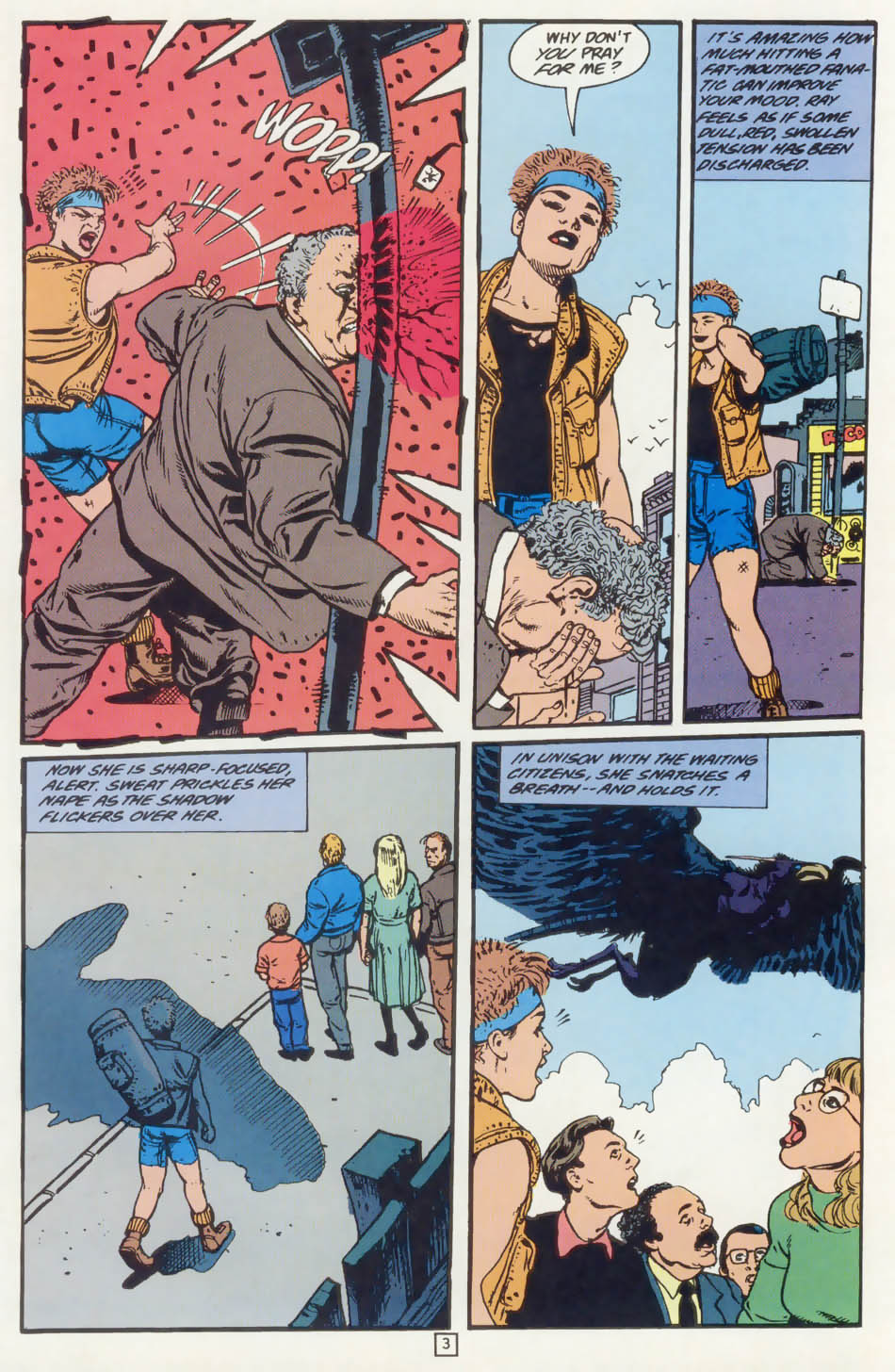 Read online Animal Man (1988) comic -  Issue #75 - 4