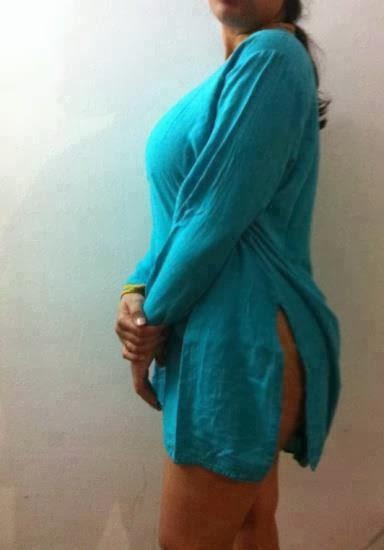 white tight salwar
