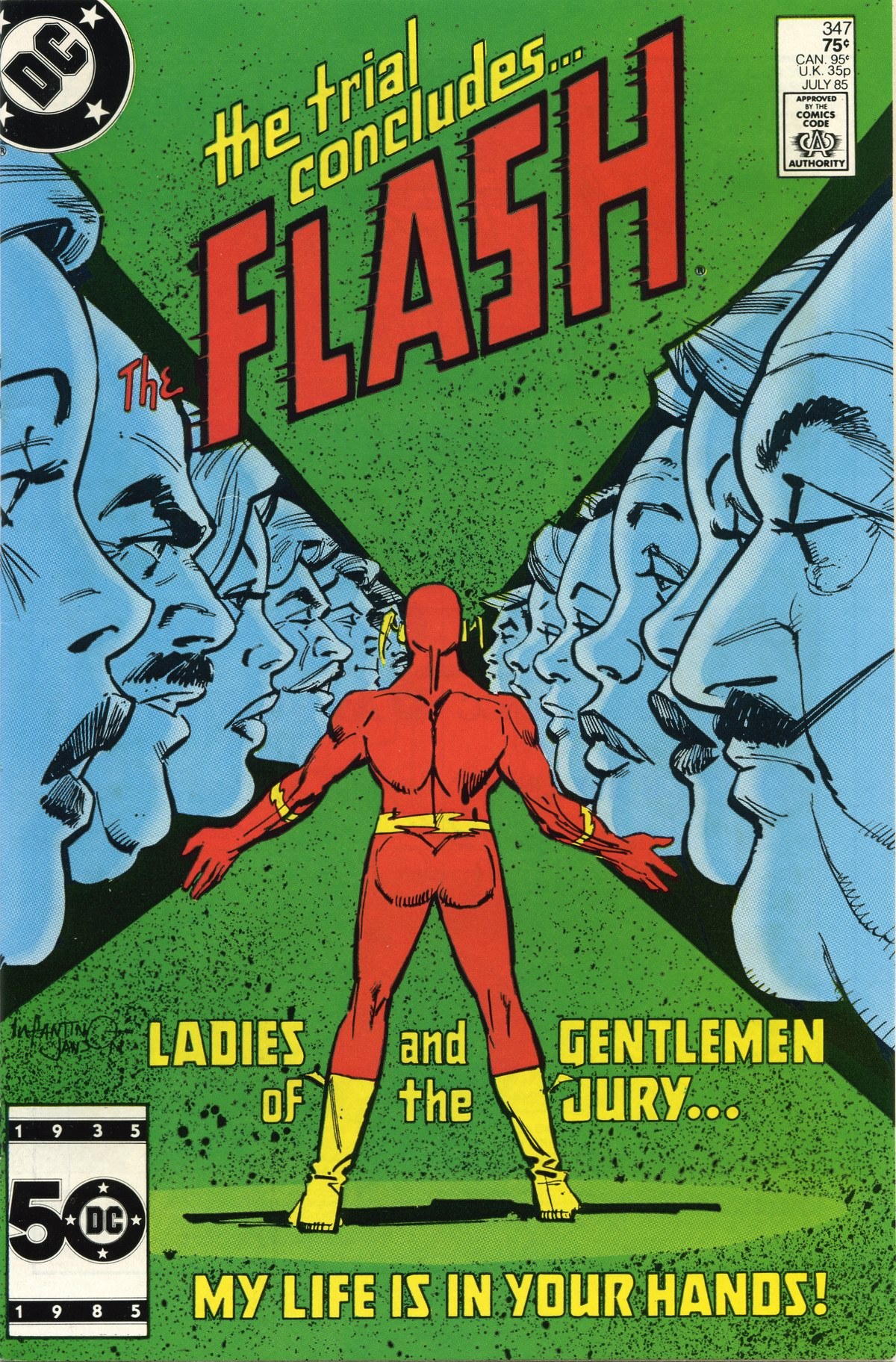 The Flash (1959) issue 347 - Page 1