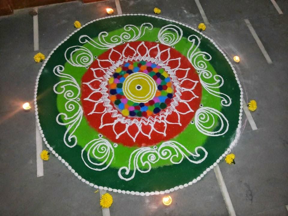 Kolam for Diwali 5