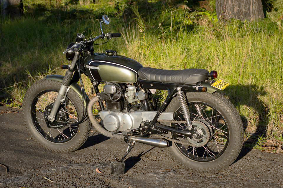 honda cb250 brat tracker ~ return of the cafe racers