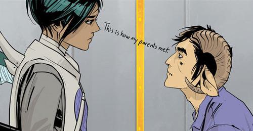 Críticas de cómics: Saga. Capítulo 2, la familia que lucha unida, ¿permanece unida?