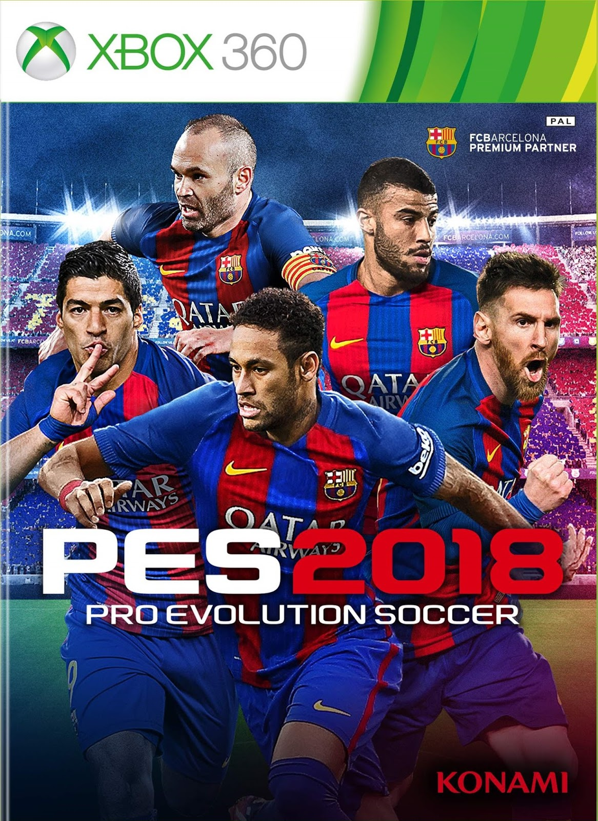 Pro Evolution Soccer 2018 XBOX360 PS3 free download full ... Xbox 360 Game Covers Download