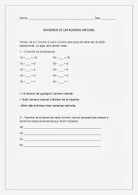 Múltiplos e Divisores - Multiplicação e Divisão parte 3