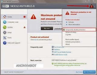 Cara Aktivator Antivirus Eset Aktif Selamanya