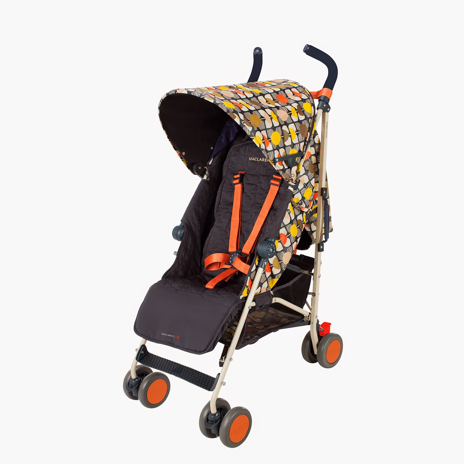 i love orla kiely orla kiely for maclaren buggy