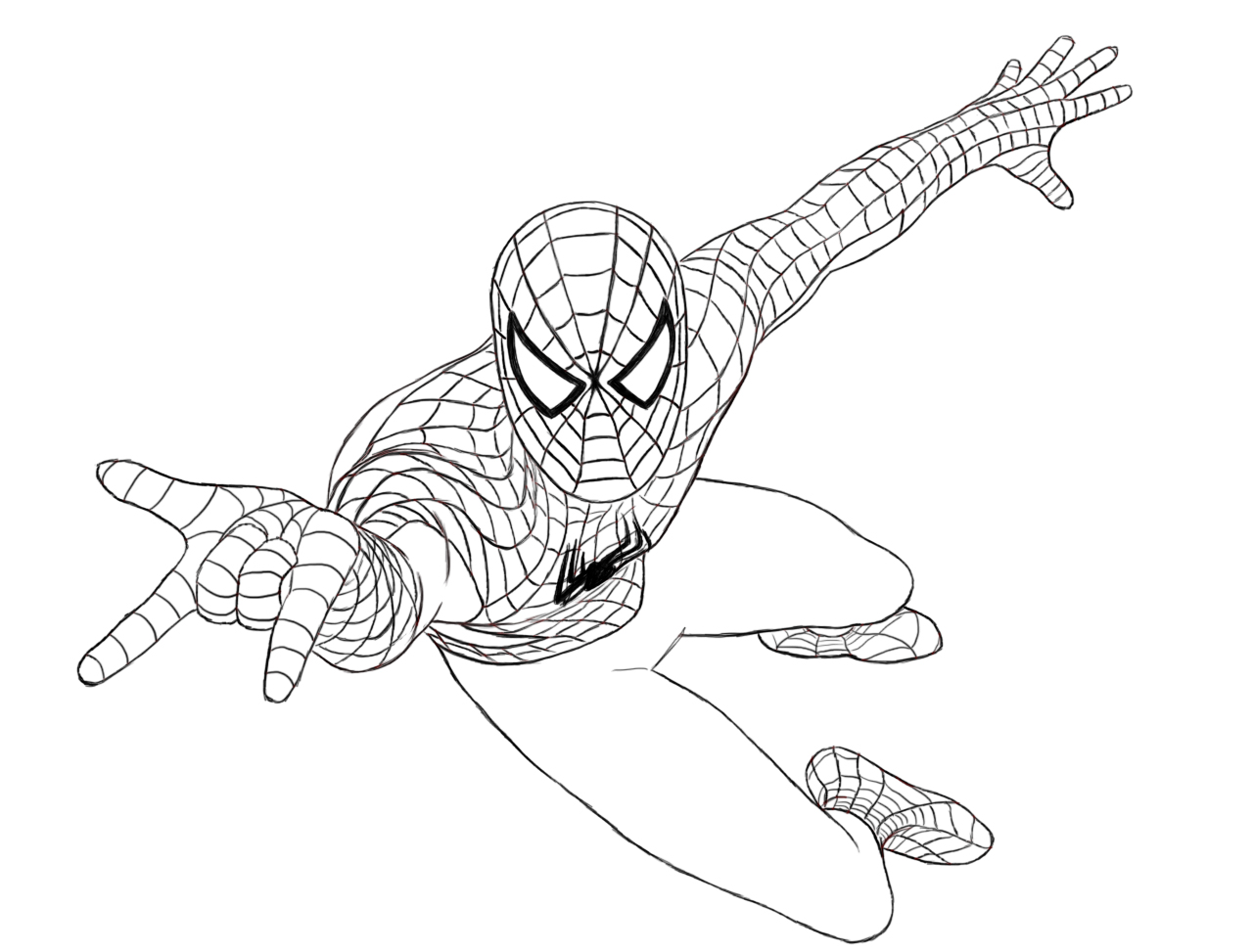 Spiderman coloring games - Spiderman Coloring Games For Kids