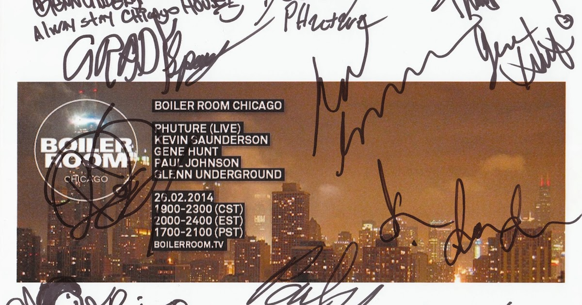 Live sets chicago house music legacy session boiler for Chicago house music