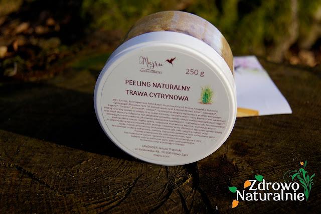 Majru - Peeling naturalny trawa cytrynowa