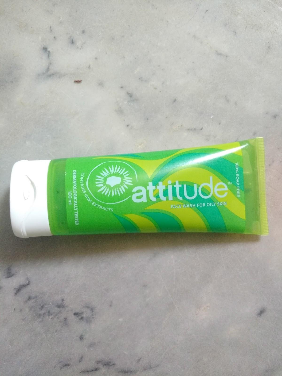 Bornbeautifull Amway Attitude Kiwi Fruit Face Wash Review
