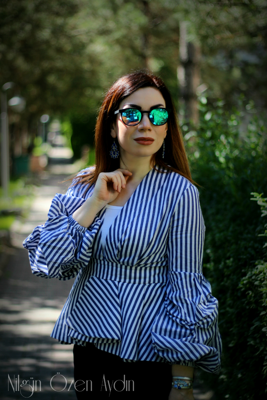 alışveriş-Balon Kollu Bluzlar-moda blogu-fashion blogger-fashion blog-Peplum bluzlar