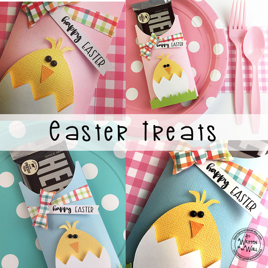 Easter Chick Candy Bar Wraps