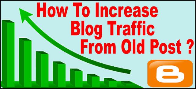 Purane Post Se Blog Ki Traffic Double Kaise kare