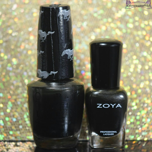 O.P.I Queen Of The Road VS Zoya Anais