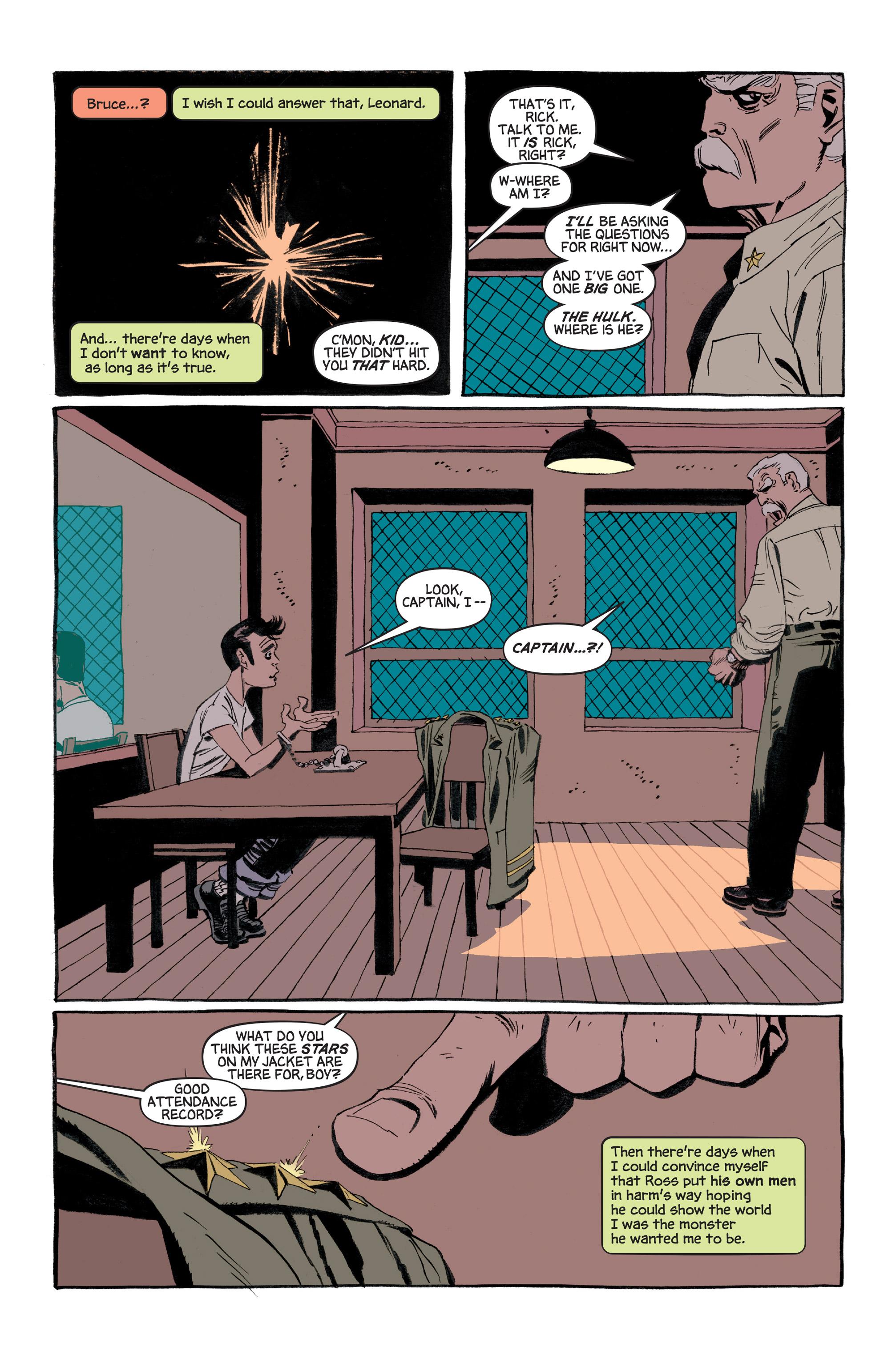 Read online Hulk: Gray comic -  Issue #3 - 11