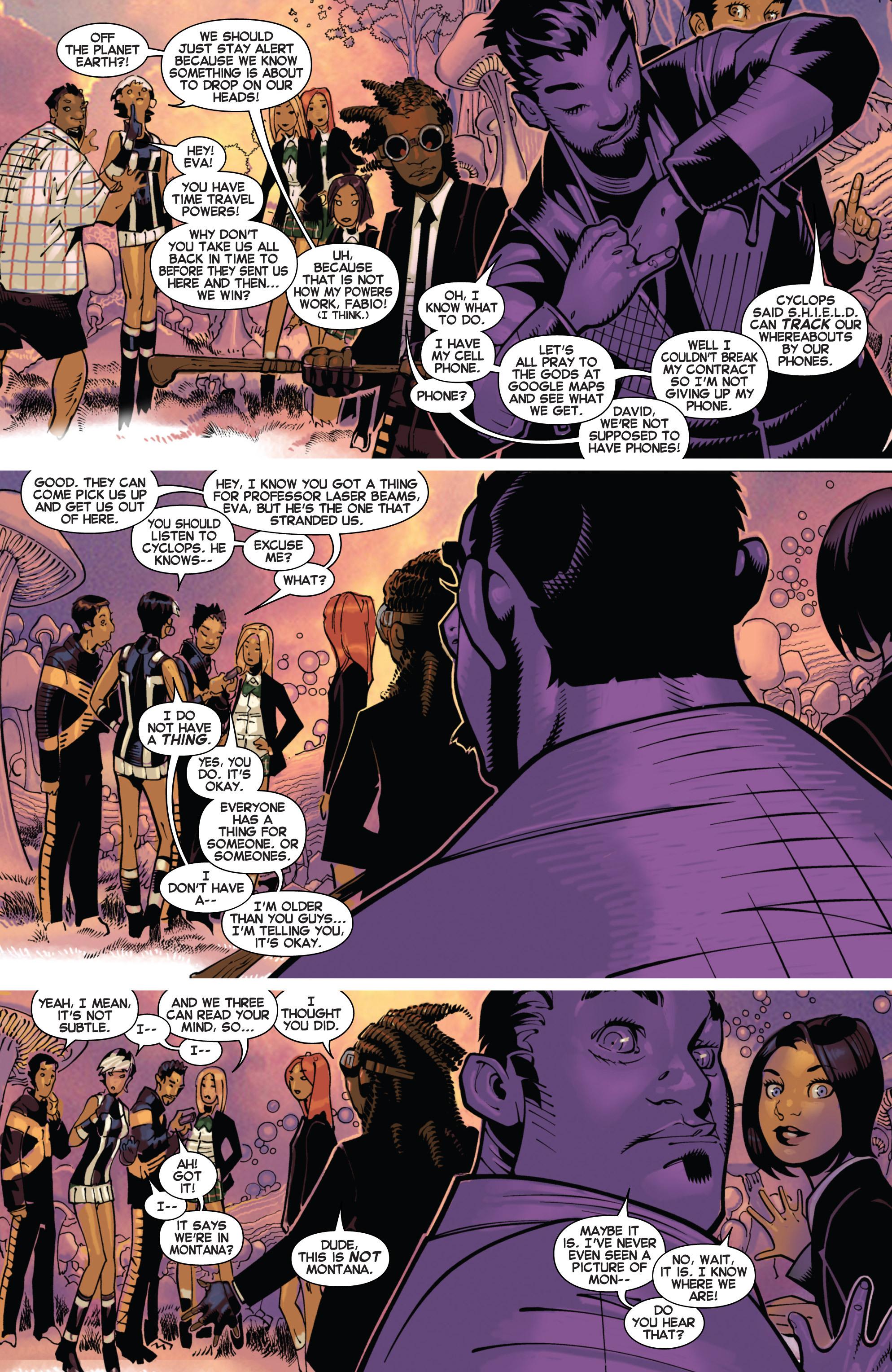 Read online Uncanny X-Men (2013) comic -  Issue #17 - 5