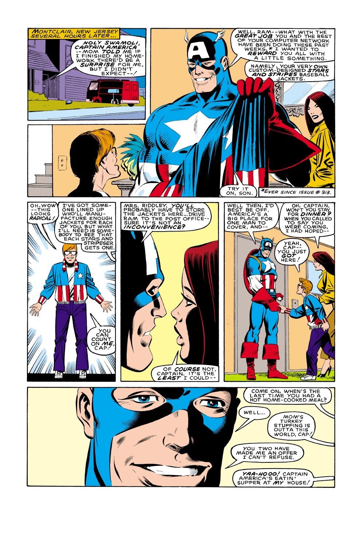 Captain America (1968) Issue #321 #249 - English 6