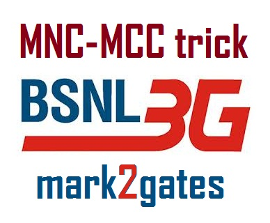 Tips and tricks for all network: BSNL 3G MNC-MCC hack, 100% working!!