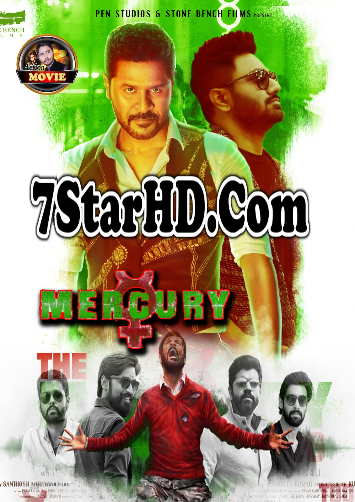 Mercury (2018) Hindi Dubbed 350MB DVDScr 480p x264