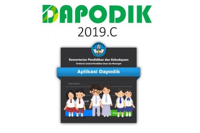 Pembahasan Aplikasi Dapodik 2019c Sebelum Pra Rilis