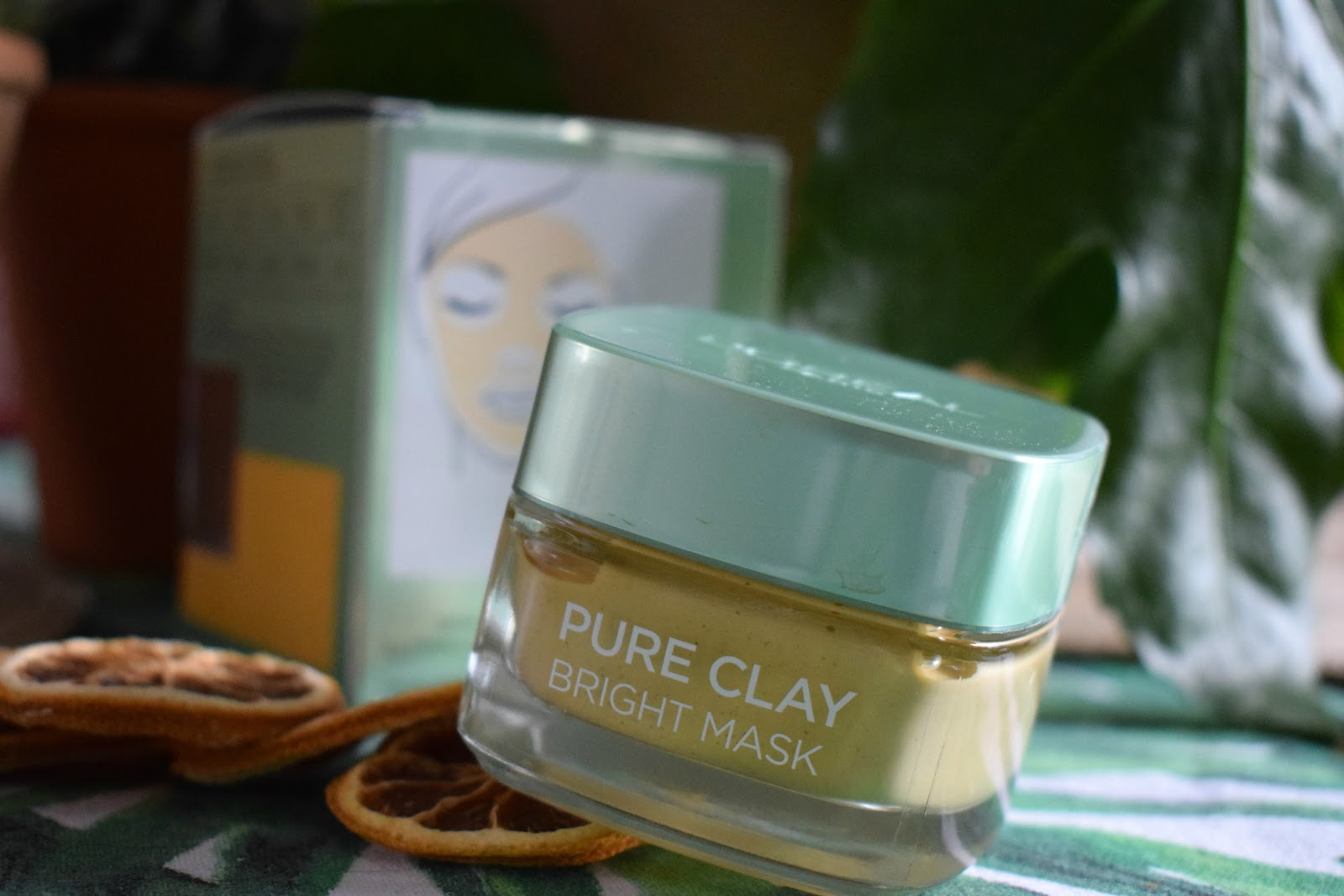 L'oreal paris pure clay bright face mask