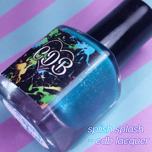 CDB Lacquer Monthly LE - Splish Splash