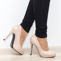Pantofi dama Busson apricot Stiletto • modlet