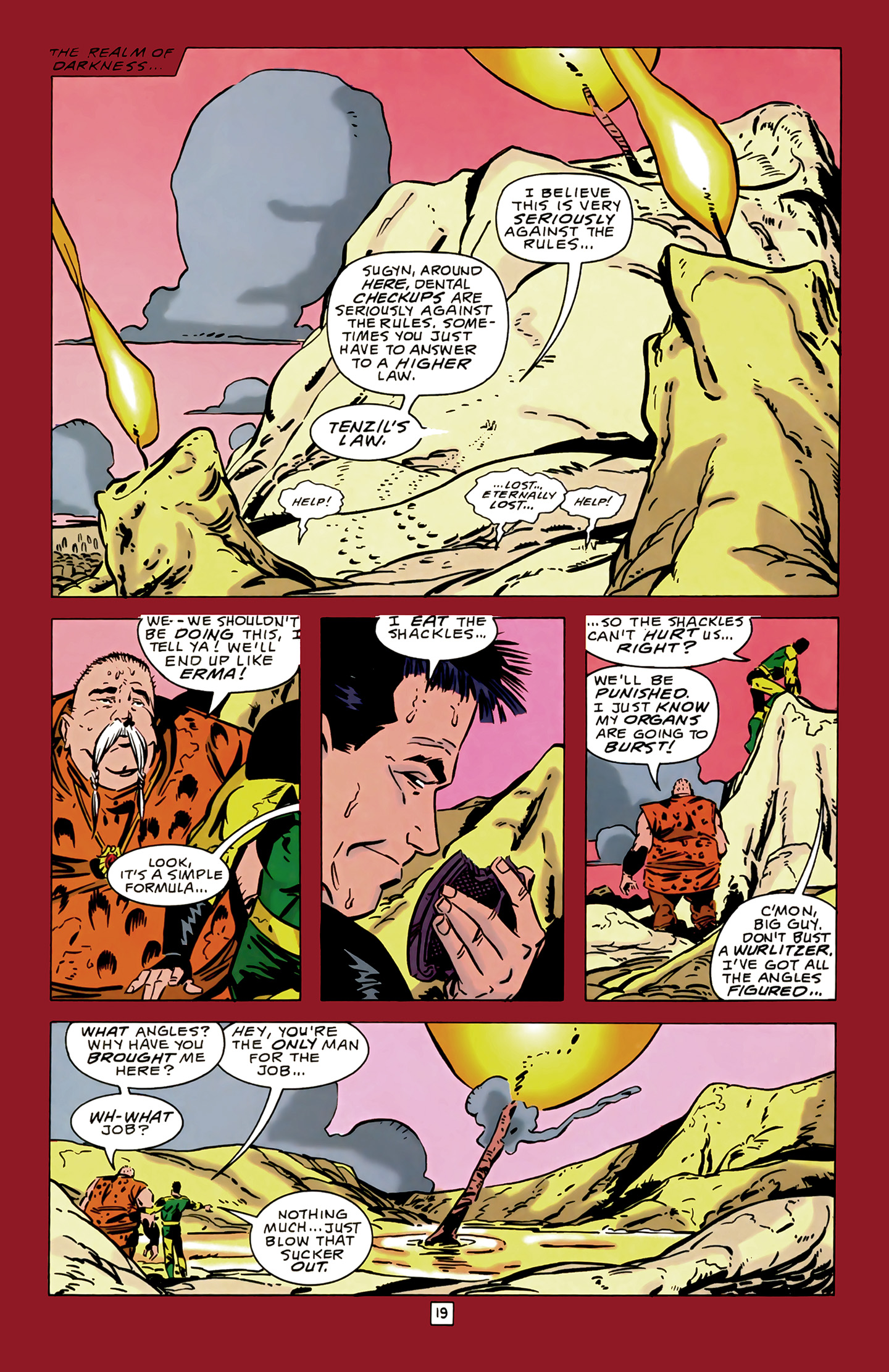 Legion of Super-Heroes (1989) 14 Page 19