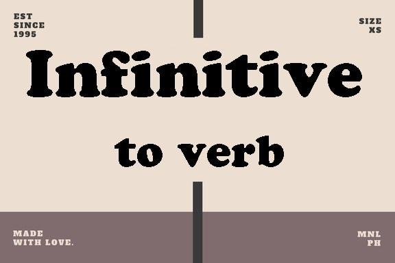 belajar grammar, definisi infinitive to be, bentuk-bentuk infinitive,