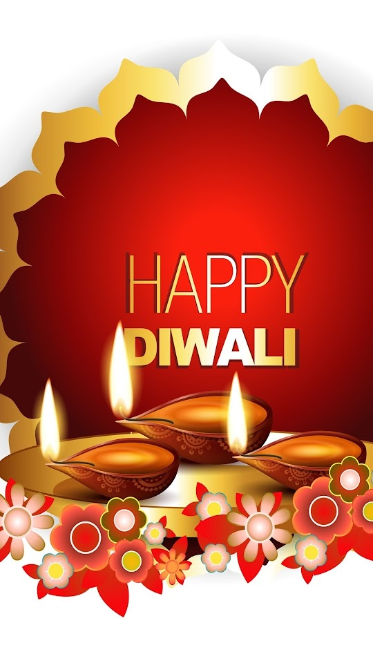 Diwali White Background Galaxy Note HD Wallpaper