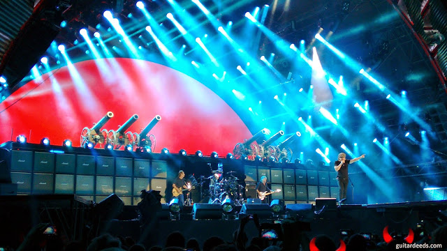 We salute you AC/DC Spielberg Zeltweg Austria
