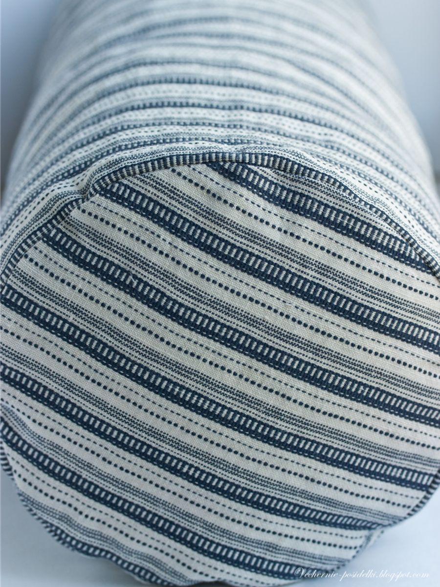 Как сшить подушку валик мастер фото 794