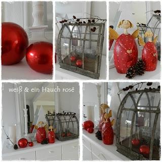 wei ein hauch ros weihnachtsdeko teil 4. Black Bedroom Furniture Sets. Home Design Ideas