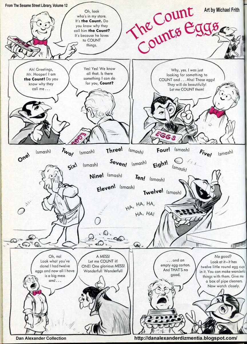 Dan Alexander Dizmentia: Big Bird And The Cyborg Of Sesame