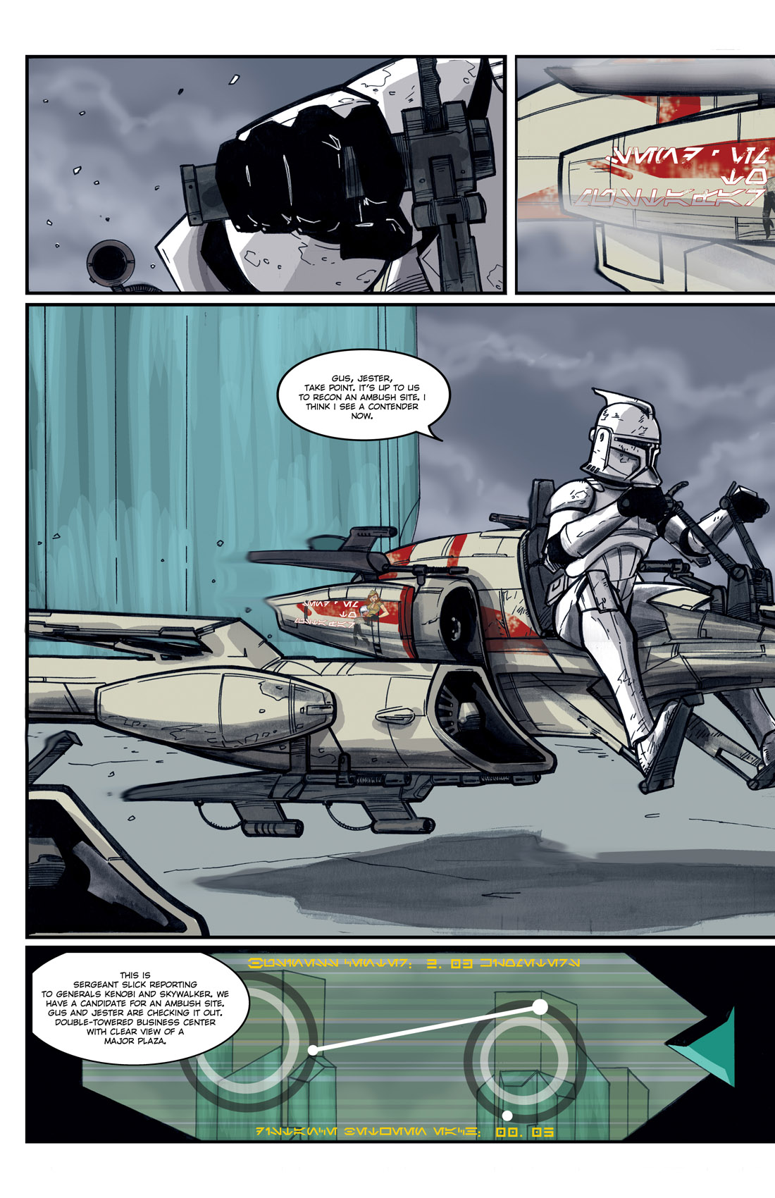 Read online Star Wars: Tales From The Clone Wars comic -  Issue # TPB - 112