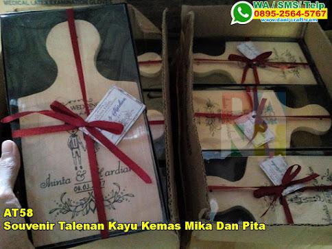Harga Souvenir Talenan Kayu Kemas Mika Dan Pita