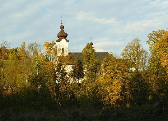 Kościół pw. św. Jana Chrzciciela w Jaworkach.