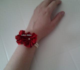 crochê,corsage crochê,corsage discreto,corsage simples