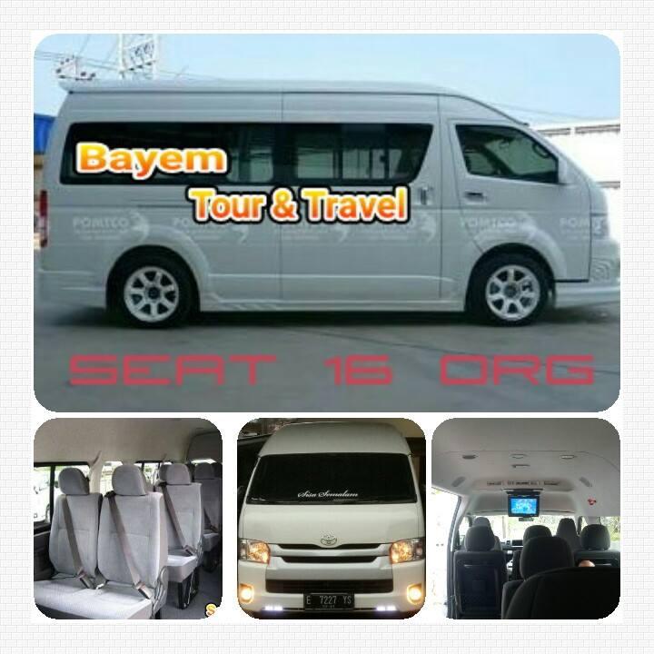 Jadwal Bayem Travel Jakarta