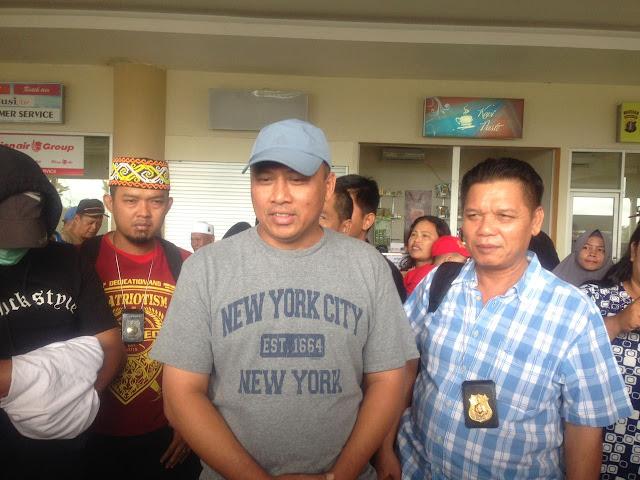 IMG 20180210 WA0022 - Petugas Bandara Dianggap Lalai, 1 KG Sabu Lolos Kebalikpapan