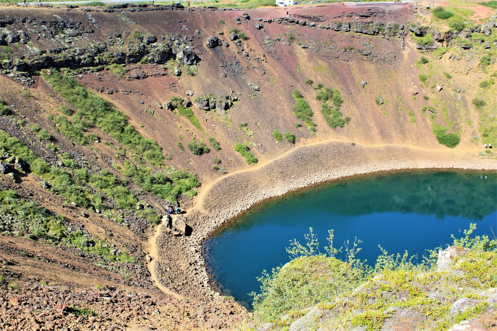 Kerid Crater, Golden Circle, Iceland
