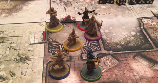 A Return To The Zombicide Dungeons