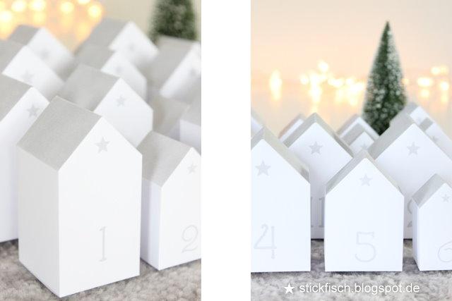 """Adventskalender """"Häuser"""" ★ NORDAHAGE"""