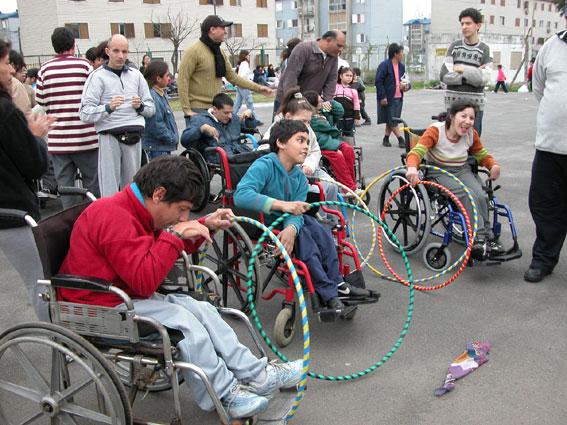 Efectos de la discrimnación en niños con discapacidad neuromotora