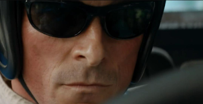 Ray-Ban 4089 Balorama Sunglasses as worn by Christian Bale while driving in the movie Ford v Ferrari (2019)