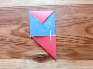 Langkah - langkah dalam membuat origami zabuton