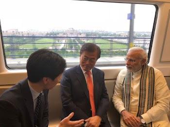 नोएडा: PM मोदी और दक्षिण कोरियाई राष्ट्रपति ने किया दुनिया की सबसे बड़ी मोबाइल फैक्ट्री का उद्घाटन